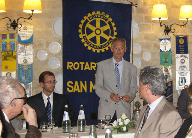personal trainer rotary club